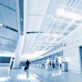 Interior of airport Stock Photos