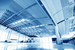 Interior of airport Stock Image