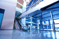 Interior of airport Royalty Free Stock Photo