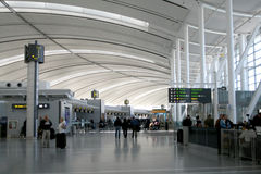 Interior of Airport Royalty Free Stock Image