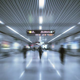 Interior of airport Royalty Free Stock Images