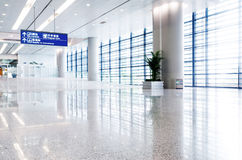 Interior of the airport Royalty Free Stock Photos