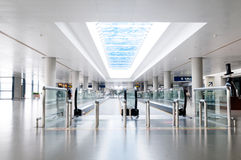 Interior of the airport Royalty Free Stock Images