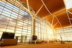 Interior of airport Royalty Free Stock Photography