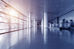 Interior of the airport Royalty Free Stock Image