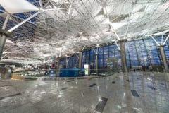 Interior of airport Vnukovo royalty free stock photo
