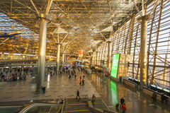 Interior of airport Vnukovo Royalty Free Stock Photography