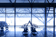 Interior airport Royalty Free Stock Images