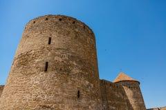 Akkerman Bilhorod-Dnistrovskyi fortress in Ukraine. Medieval castle. stock photos