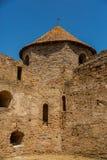 Akkerman Bilhorod-Dnistrovskyi fortress in Ukraine. Medieval castle. stock photography
