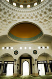 Interior of Al-Bukhari Mosque in Kedah Royalty Free Stock Photography