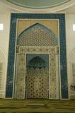 Interior of Al-Bukhari Mosque in Kedah Royalty Free Stock Photos