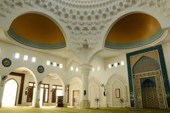 Interior of Al-Bukhari Mosque in Kedah Stock Photo