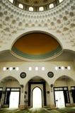 Interior of Al-Bukhari Mosque in Kedah Royalty Free Stock Photography