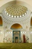 Interior of Al-Bukhari Mosque in Kedah Stock Images