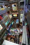 Interior Alameda del centro de MBK bangkok tailandia imágenes de archivo libres de regalías