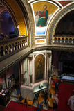 Interior of Alexander Nevsky Church in Lodz Stock Photography