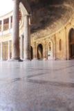 Interior of Alhambra palace Royalty Free Stock Image