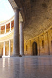 Interior of Alhambra palace Royalty Free Stock Image