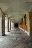 Interior alley royalty free stock photo