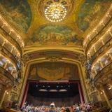 Interior of the Amazon Theatre in Manaus, Brazil Royalty Free Stock Photo