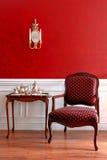 Interior americano colonial de la casa del estilo Fotografía de archivo
