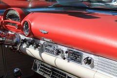 Interior americano do carro de esportes do vintage Foto de Stock Royalty Free