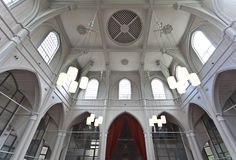 Interior of the Amstelkerk church in Amsterdam- The Netherlands Stock Photos