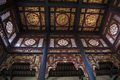 Interior of ancient Chinese house Royalty Free Stock Image