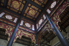 Interior of ancient Chinese house Royalty Free Stock Images