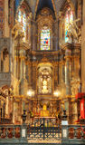 Interior of ancient church Royalty Free Stock Photo