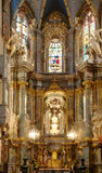 Interior of ancient church Royalty Free Stock Images