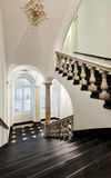 Interior ancient palace. Ancient staircase of a classic historic building, interior Stock Images