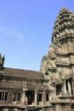 Interior of Angkor Wat temple, Siem Reap, Cambodia Royalty Free Stock Photography