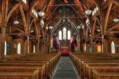 Interior Anglican Church Royalty Free Stock Photo