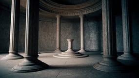 Interior antiguo Fotografía de archivo libre de regalías
