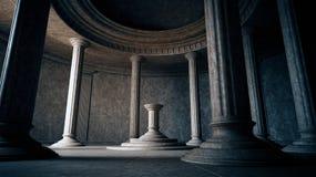 Interior antiguo Foto de archivo libre de regalías