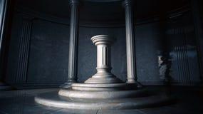 Interior antiguo Fotografía de archivo