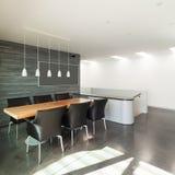 Interior, apartmen modernos bonitos Imagem de Stock