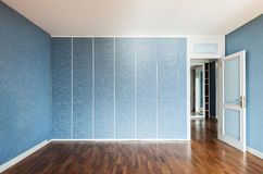 Blue room Royalty Free Stock Image