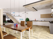 Interior of apartment Stock Image