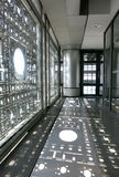 Interior of Arab World Institute in Paris Royalty Free Stock Images