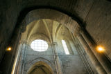 Interior arch of a cathedral Royalty Free Stock Images