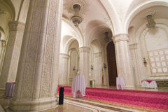 Interior Arches. Beautiful stone and plaster interior arches Stock Images