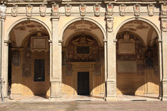 The Archiginnasio of Bologna Stock Photography
