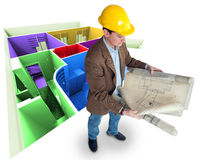 Interior architect Royalty Free Stock Photos