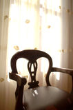 Interior/Architecture. An art-deco chair in a close-up Royalty Free Stock Photography