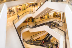 Interior Architecture. Of Central Embassy shopping mall in Bangkok Thailand Stock Images