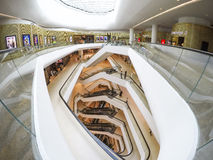 Interior Architecture. Of Central Embassy shopping mall in Bangkok Thailand Royalty Free Stock Photos