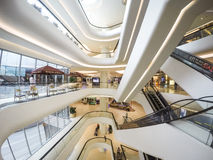 Interior Architecture. Of Central Embassy shopping mall in Bangkok Thailand Stock Photo